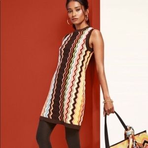 MISSONI Sleeveless Knit Dress Target Collab XL NWT